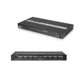 HDMI Splitter 1x8 1.4v 4K 1 entrada a 8 salida