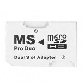 Adapter 2 micro sd a stick pro duo