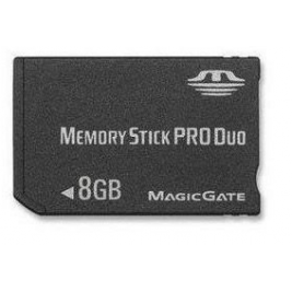 Memoria stick pro duo 8GB