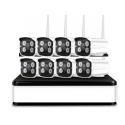 8 Cámaras Wireless NVR con grabación