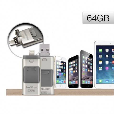 New Pendrive Para iphone ,ipad ,andriod y pc 64GB