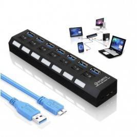 USB 3.0 HUB 7 Puertos