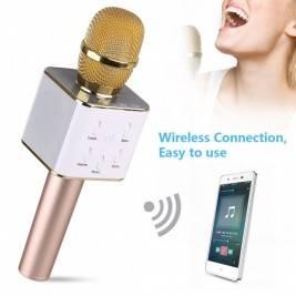 Micrófono Karaoke Altavoz Blueooth Q7