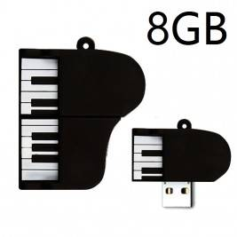 Pendrive Muñeco 8GB piano