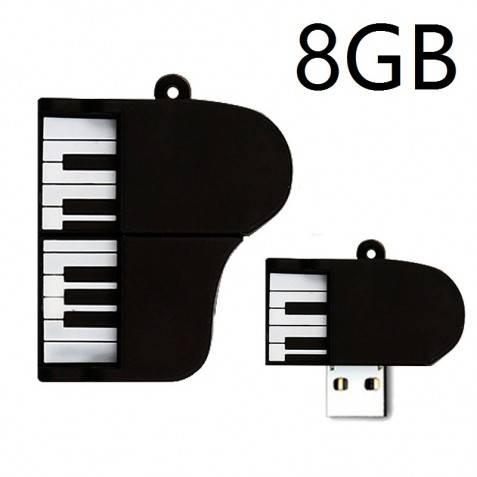 Pendrive Muñeco 8GB piano