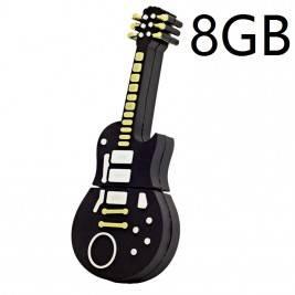 Pendrive Muñeco 8GB guitarra