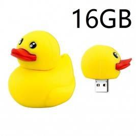 Pendrive Muñeco 16GB pato amarillo