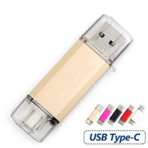 Pendrive 16Gb Flash USB 3.0 Tipo C 3.1