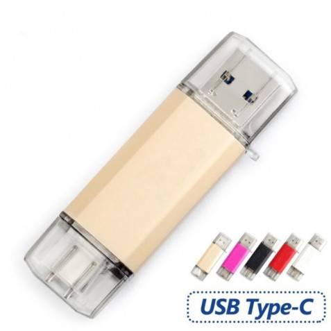 Pendrive 32Gb Flash USB 3.0 Tipo C 3.1