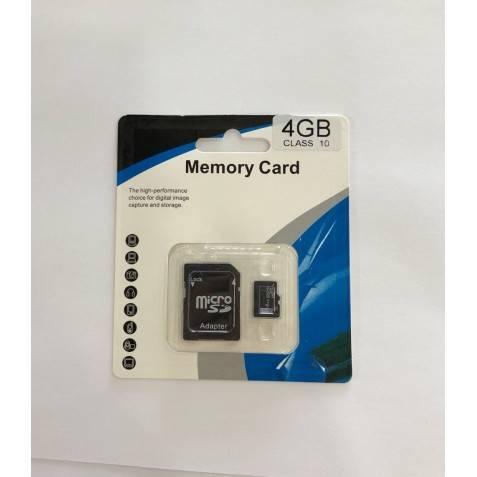 Micro sd 4GB CLASE 10