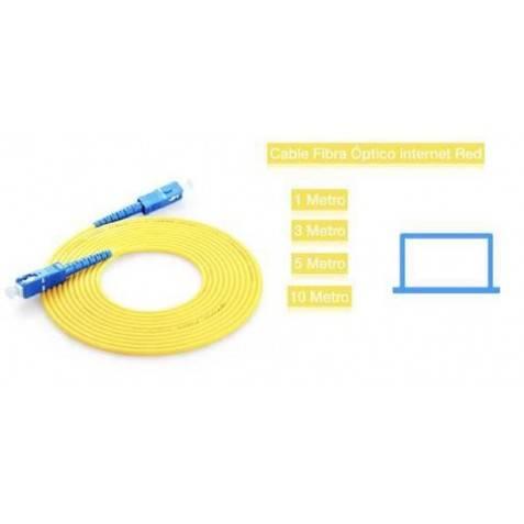 Cable Fibra Óptico red 1m