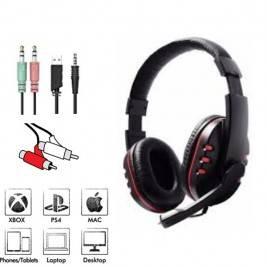 Auriculares casco universal con micrófono