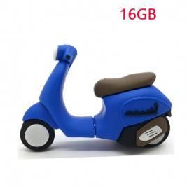Pendrive Muñeco 8GB moto