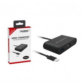 Adapter video type-c a hdmi y usb 3.0