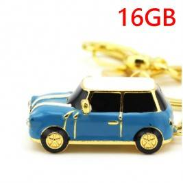 Pendrive de Crystal forma coche mini 16GB