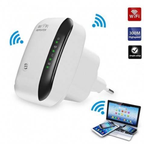 Repetidor WIFI  300mb/s (WPS) wifi