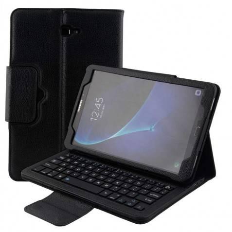 Funda con teclador bluetooth para samsung tablet
