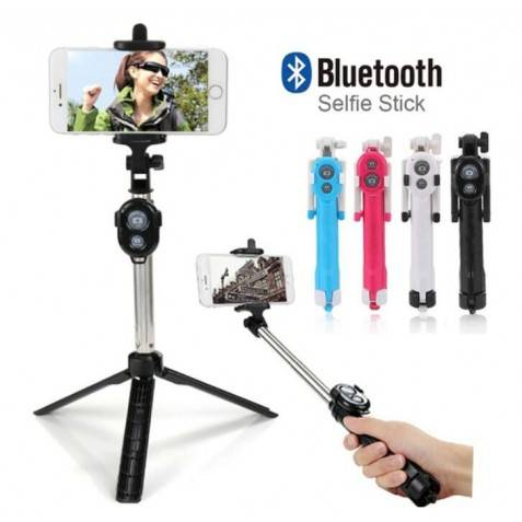 Palo selfie bluetooth tripode