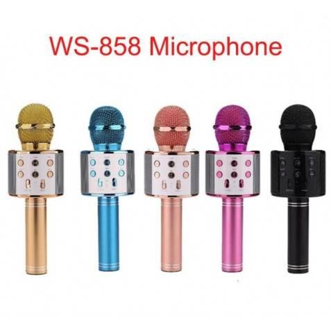 Micrófono Karaoke del Altavoz Blueooth WS-858