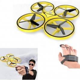 drones maneja con mano