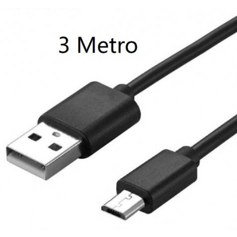 Cable Micro USB 3m