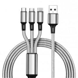Cable 3en1 universal 1m