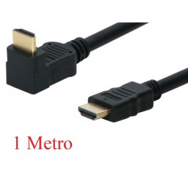 Cable HDMI 1M Codo