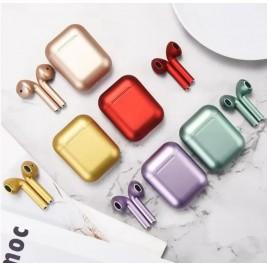Auriculares inalambrico metalizado