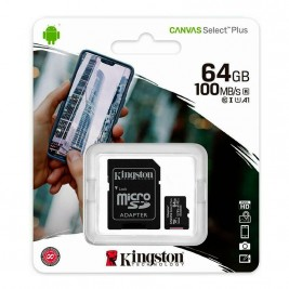 Micro sd 64GB Kingston class 10
