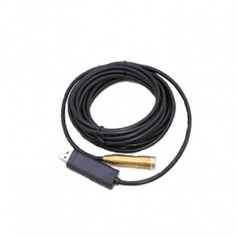Cable alargador de cámara espía con led 1.5m, cable duro para mirar en el interior de cosas