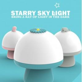 Lámpara de música estrella