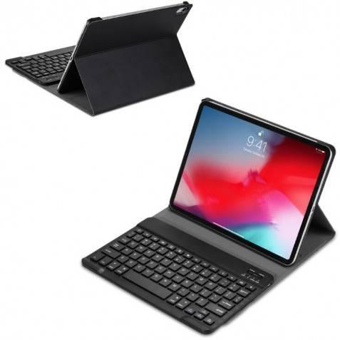 Funda con teclador bluetooth para ipad