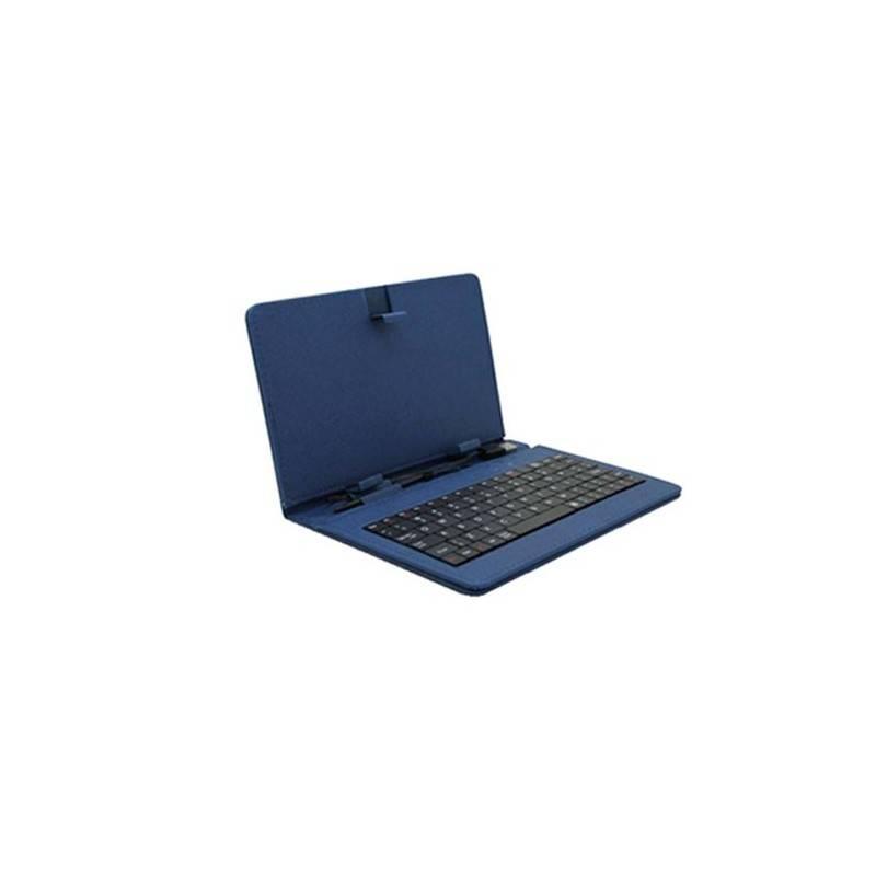 Funda universal tablet 7 pulgadas con teclado y - Funda tablet con teclado 7 ...